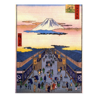 Carte Postale Suruga-chō