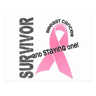 Carte Postale Survivant 1 de CANCER DU SEIN