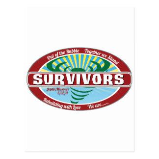 Carte Postale Survivant de Joplin