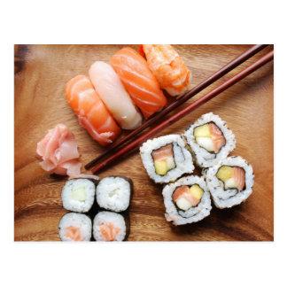 Carte Postale Sushi