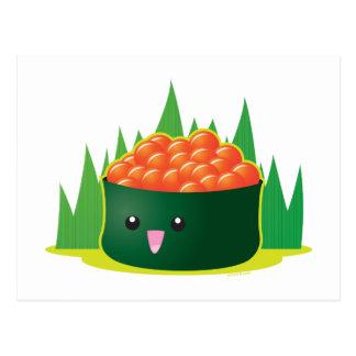 Carte Postale Sushi d'Ikura