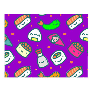 Carte Postale Sushi Moki