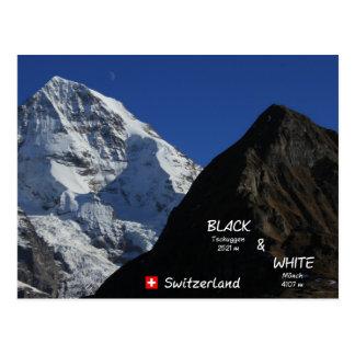 Carte Postale Swiss Mountains, suisses de montagnes, moine