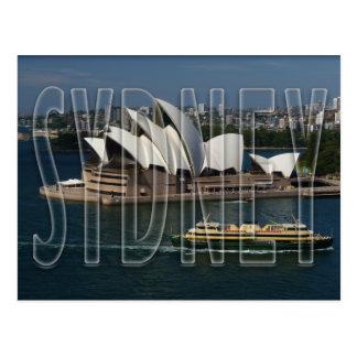 Carte Postale Sydney