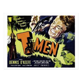 Carte Postale T-Hommes