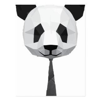Carte Postale T-shirt de panda de bureau