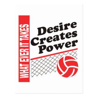 Carte Postale T-shirt de volleyball