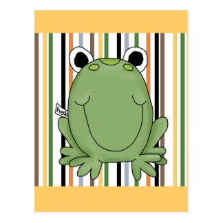 Carte Postale T-shirts et cadeaux de grenouille de Freddie