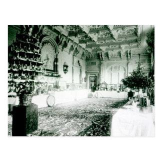 Carte Postale Tableaux de Noël dans la salle de Durbar