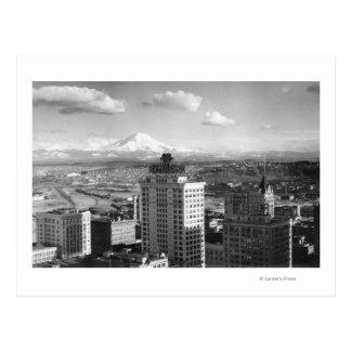 Carte Postale Tacoma, vue de WA de plus pluvieux des arts