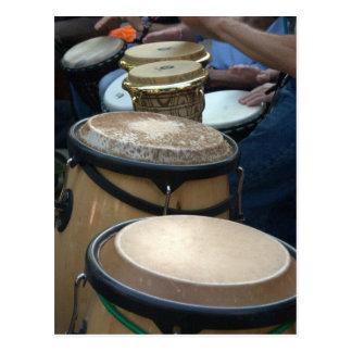 Carte Postale tambours