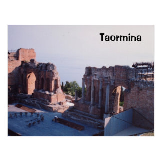 Carte Postale Taormina
