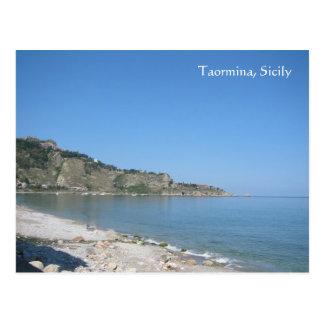 Carte Postale Taormina, Sicile