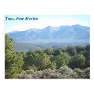 Carte Postale Taos, Nouveau Mexique