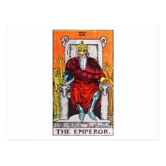 Carte Postale tarot-empereur