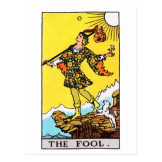 Carte Postale tarot-imbécile