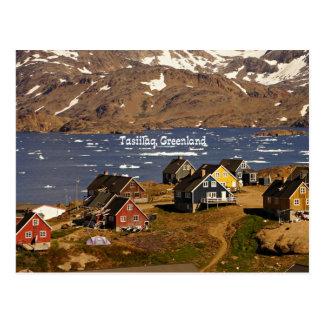 Carte Postale Tasiilaq, Groenland