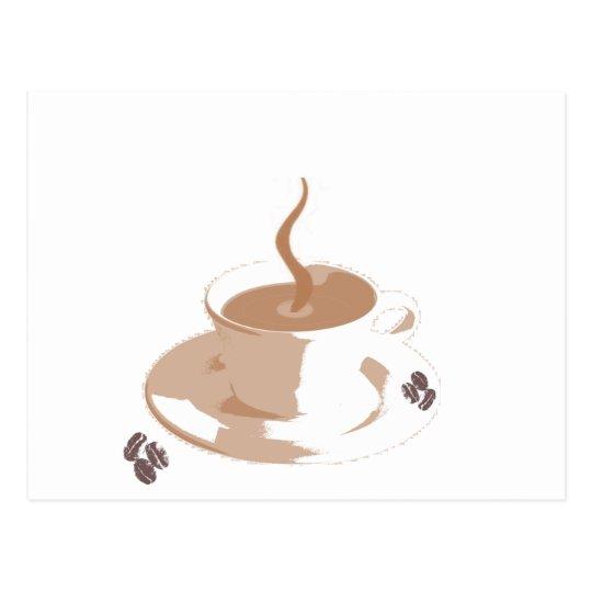 Carte postale Tasse de Café
