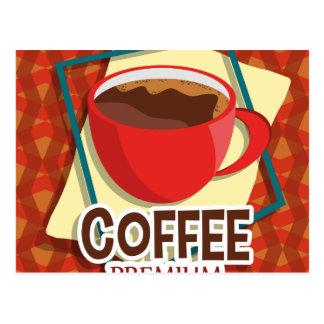 Carte Postale Tasse d'illustration de café délicieuse