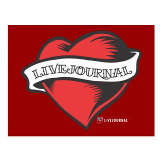 Carte Postale Tatouage de LiveJournal