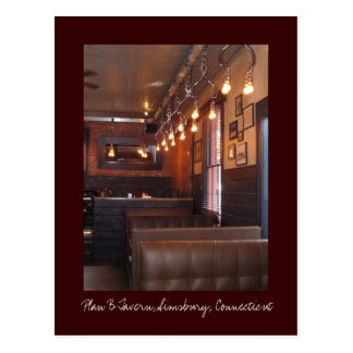 Carte Postale Taverne du plan B, Simsbury