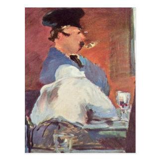 Carte Postale Taverne - Edouard Manet