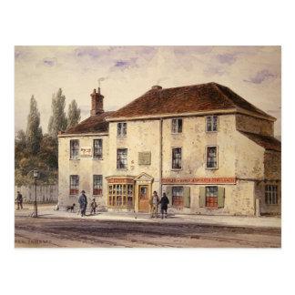 Carte Postale Taverne pie de Taureau, 1848