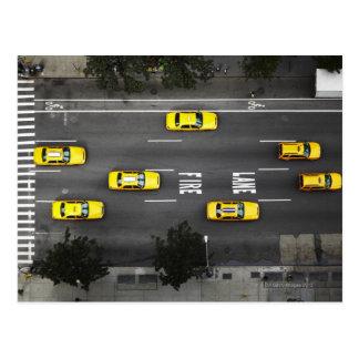 Carte Postale Taxis