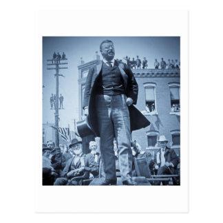 Carte Postale Teddy Roosevelt les orignaux de Taureau parle 1905