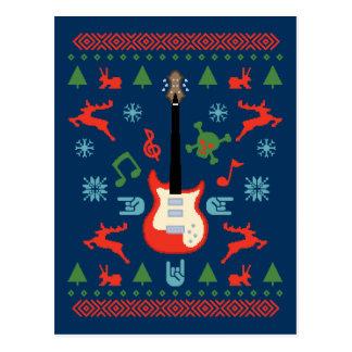 Carte Postale Tee - shirt laid de chandail de roche