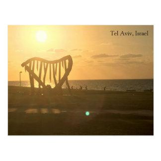 Carte Postale Tel Aviv, Israël