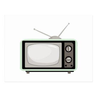 Carte Postale Télévision