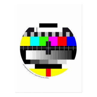 Carte Postale Television / Télévision / TV