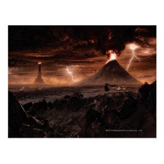 Carte Postale Tempête de foudre de Mordor