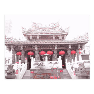 Carte Postale Temple chinois à Yokohama, Japon