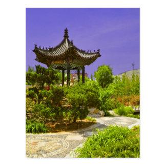 Carte Postale Temple chinois en Chine