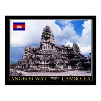 Carte Postale Temple d'Angkor Vat, Cambodge