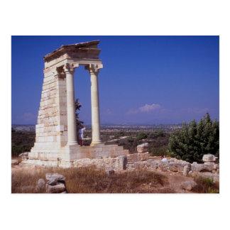 Carte Postale Temple d'Apollo, Chypre