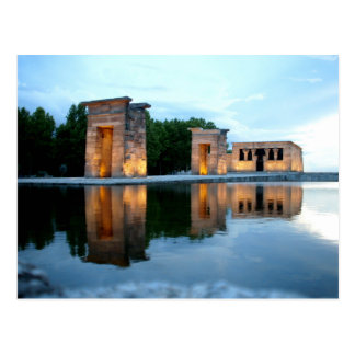 Carte Postale Temple de Debod - Madrid