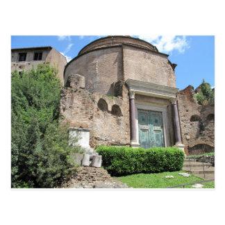 Carte Postale Temple de Divus Romulus - ANNONCE du 4ème siècle