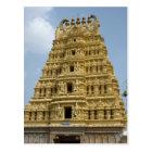 Carte Postale Temple de Mysoram en Inde