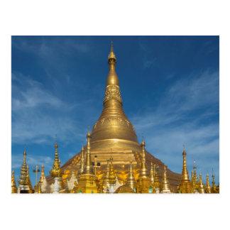 Carte Postale Temple d'or de Stupa