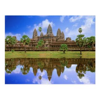 Carte Postale Temple du Cambodge, Kampuchea, Angkor Vat