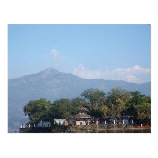 Carte Postale Temple Pokhara de Taalbarahi