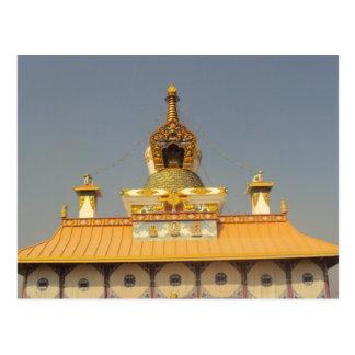 Carte Postale Temple thaïlandais Lumbini Népal