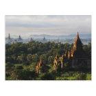 Carte Postale Temples au lever de soleil, Bagan, Myanmar