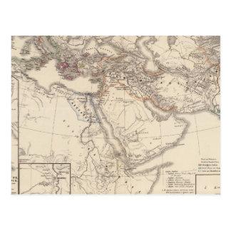 Carte Postale Tempore d'Assyrii de regni de terrarum d'Orbis