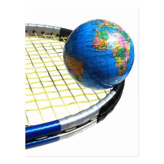 Carte Postale Tennis du monde