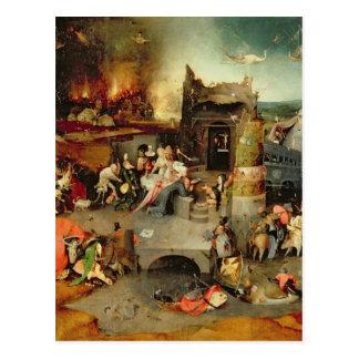 Carte Postale Tentation de St Anthony