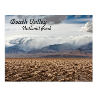 Carte Postale Terrain de golf de diables dans Death Valley